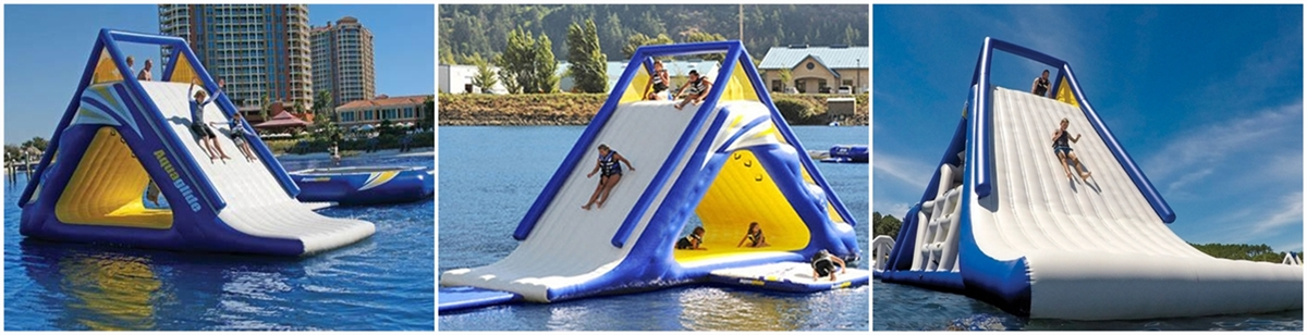 inflatable water action tower