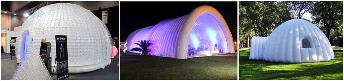 portable inflatable event tent