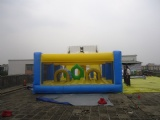 Popular Inflatable Titanic Slide With Obstacle