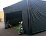 Inflatable Hitting Cage Tent for Golf Simulator