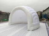 Inflatable half dome tent with LED light for party tent