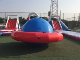 30X30m giant floating inflatable water park