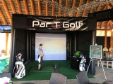 Inflatable Golf Simulator Building