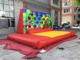 Inflatable fist wall