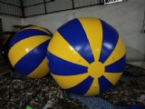 Huge inflatable volley ball