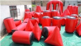 7-10 Man Paintball Field With 44 Inflatable Air Bunkers