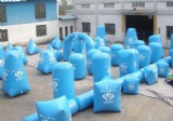 44 inflatable bunkers