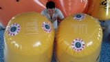 Inflatable bouy advertising water buoy floating buoy