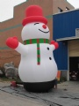 New Customized Inflatable Snowman outdoor holiday decorations