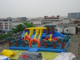 New design Inflatable Forest Amusement Park for kids