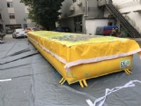 Material: 0.55+0.9mm PVC tarpaulin
