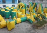 46 inflatable bunkers