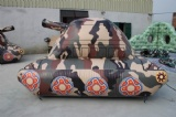 47 pcs inflatable tactical air bunkers