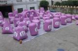 52 inflatable bunkers