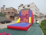 velcro inflatable jump walls bouncy castle