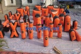 47 inflatable bunkers