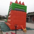 Colorful for steeple in fairy tale inflatable slide