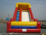 Large classic inflatable slide for commercial use
