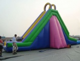Large wow inflatable water slide for commercial use