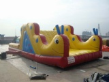 Inflatable carpenter worm slide for kids party