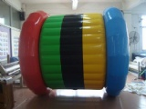 Colorful Inflatable water walking roller water game