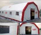 Cheap portable inflatable emergency tent for sale