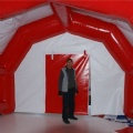 inflatable mobile hospital for emergency first aid