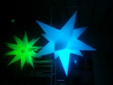 inflatable lighting star