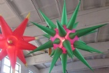 3ft diamater inflatable spiked lighting spheres