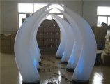 inflatable lighting horns for party