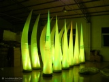 inflatable lighting corn for festival party decoration