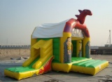red dragon inflatable bouncy house for backyard party