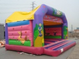 Party bouncers inflatable kids castles space walk
