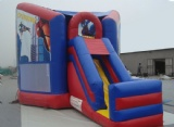 Spiderman jumping inflatable party bouncy castle for rental