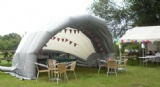 Inflatable Bandshell Stage Cover