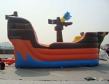 Inflatable Pirate ship party jumper game for kids