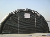 outdoor inflatable spray work shelter