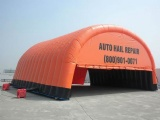 Commercial Grade Inflatable Auto Hail Repair Tents