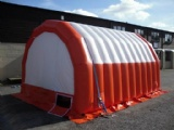 emergency shelter service air inflate tent