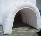inflable igloo white dome tent