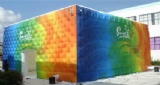 Colorful Cube Air Tent