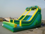 classic inflatable jungle slide
