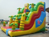 sponge bob commerical grade inflatable slide
