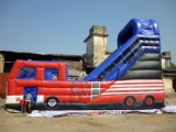 best commercial inflatable water slide toy in bus