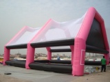 Mobile Inflatable paintball bunker field