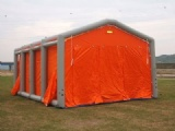 decontamination tent inflatable emergency shelter