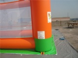 inflatable football shootout game
