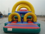 Challenge Inflatable Backyard Obstacle course