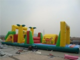 Creative inflatable Obstacle jumping Course for kids
