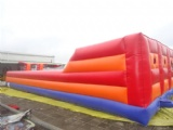 infltable sport bungee run around